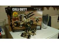 Fully built limited Edition call of duty AA gun mega bloks