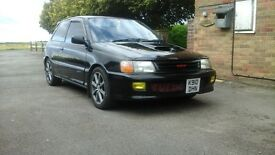 toyota starlet gt turbo ep82 rare fast nice old car 10months mot electric windows sunroof the lot !