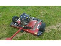 Swisher quad mower, quad topper