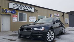 2014 Audi A4 Komfort-AWD-LEATHER-SUNROOF-1 OWNER OFF LEASE