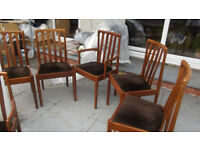 Dining Suite,extendable table and up to 6 chairs