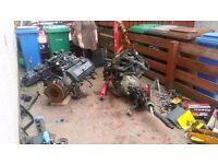 bmw e36 1998 1.6 engine and 5 speed gearbox with all aux parts inc £150