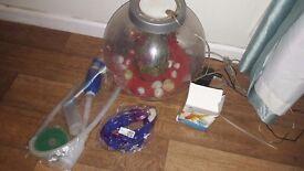 Med sized Biob fish bowl.