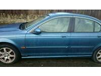 JAGUAR x type car