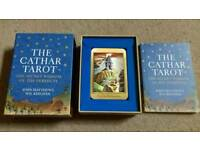 The cathar tarot and book.