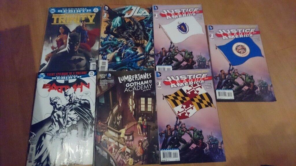 DC comics variants