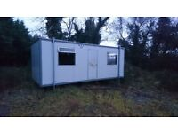 Portacabin for sale, electricity ready.