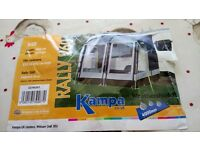 Kampa rqlly 260 caravan awning ex display brand new