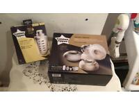 Tommee Tippee electric breast pump, steriliser and bottle warmer