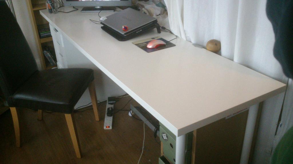 Ikea linnmon alex desk with drawer storage cm in finsbury