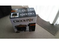 Crock-Pot - The original slow cooker - new in box
