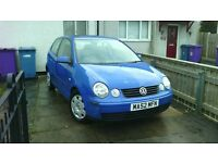 Volkswagen Polo 2002 1.4 Petrol, Special AUTOMATIC, Nice Low Millage for Age!!!