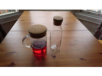 IKEA Glass Carafe and Jug (1/1.5L) in mint condition
