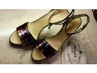 Prada Luxury Women Heel Shoes