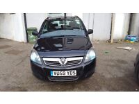 PCO REGISTERED/UBER READY/2009 VAUXHALL ZAFIRA 1.9 DIESEL AUTOMATIC/UPTON PARK,LONDON