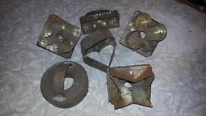 Antique cookie cutters