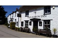 Second chef and kitchen team- Old Albion Inn - Seasonal