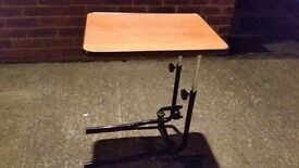 Medical Chair Table Adjustable Home Over Bed Mobility Tray £20 ono