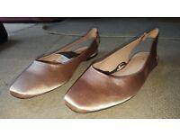 Zara Trafaluc Flat Shoes, UNWORN/BRAND NEW, Size 38