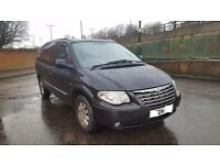 2004 04 FACELIFT CHRYSLER GRAND VOYAGER CRD LIMITED 2.5 MANUAL PSH HPI CLEAR FULLY LOADED