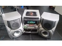 AIWA XR-H330MD Multi-CD/MD/Radio/Tape player - needs some repair