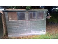 Garden sheds for collection