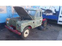 Land rover 109 truck cab diesel spares or repairs