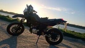Yamaha dtr 125. Very powerfull bike.