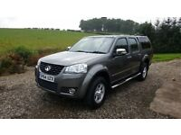 4x4 D-Cab with canopy and towbar. Great Wall Steed SE 2.0D 2Years Warranty remaining