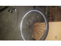 """27 """" front wheel no quick realise tho just tyre wheel"""