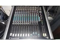 Soundcraft Spirit M8 mixing console