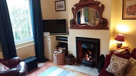 Fabulous double room in lovely cottage - comfortable and cosy - with all services.