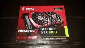 MSI NVIDIA GeForce GTX 1080 8GB GAMING X RGB Graphics Card