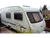 *** 2005 Swift Sterling Europa 520/4 Touring Caravan with Motor Mover, Solor Panel ***