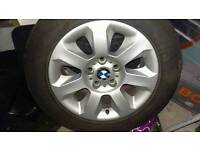 Bmw 16 in alloys with tyres