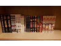 Selling these manga collection In singles or Bunch and comic