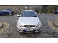 2005 Vauxhall Corsa 1.4 silver 5dr hatchback AUTO petrol MOT July2018 full service history 2keys