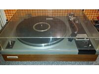 Pioneer PL-115D Turntable with Shure Me75JE Cartridge and N75EJ Stylus - VGC