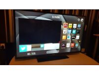 LUXOR 40 TV SUPER Smart HD tv,BUILT in DVD,wifi,Freeview HD, NETFLIX. COMES WITH REMOTE CONTROL