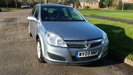 2009 (09) Vauxhall Astra 1.6 Petrol, SERVICE HISTORY, NEW MOT, LOW MILEAGE, free local delivery