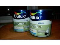 Dulux Kitchen+ Nutmeg White Paint 2 x 2.5 Litres