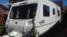 bailey pageant auvergne lightweight 5 berth caravan 2006