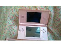 Nintend ds console and lots of games
