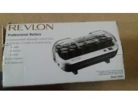 Unused set of Revlon heated rollers (still boxed)