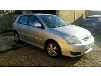 2005 toyota corolla T3 1.6 HPI clear 5 Door good condition