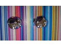 replacement mixer tap heads-chrome effect