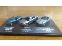 007 JAMES BOND BMW Z3, 750iL, Z8 MODEL SET 1/87 scale. Minichamps.