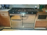 Cannon Icon Double Oven Gas Range cooker