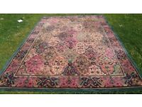 MEYMEH PERSIAN RUG 100% WOOL EXCELLENT CONDITION.