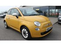 FIAT 500 1.2 COLOUR THERAPY 3d 69 BHP * QUALITY & BEST VALUE ASSURED * (yellow) 2013